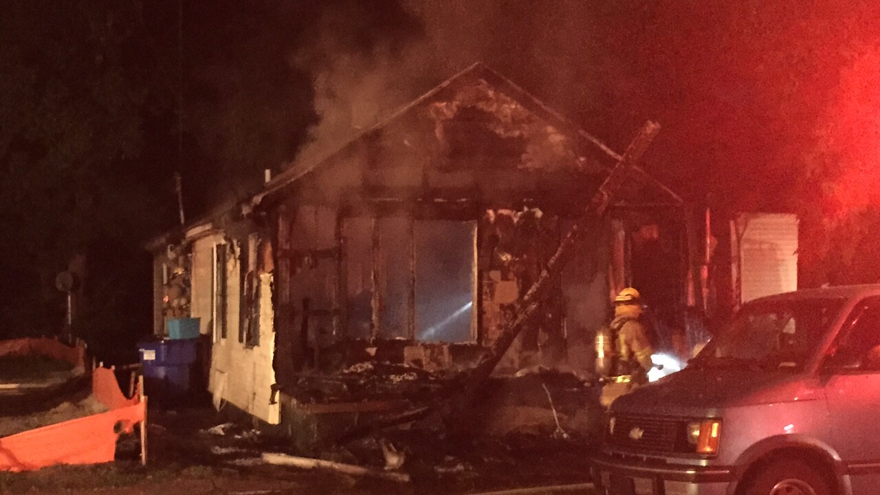 Norfolk home destroyed by fire