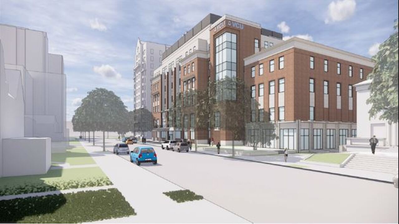 $121-million STEM building set to replace VCU's Franklin Street Gym