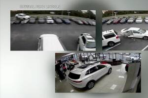 Driver hits embankment, flies through dealership parking lot after medical episode in Citrus County