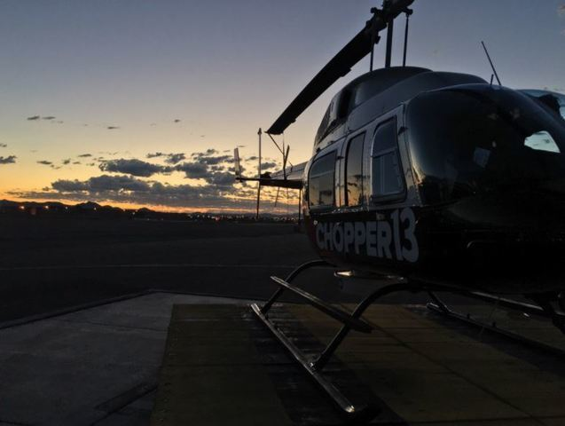 PHOTOS: Behind the scenes with Chopper 13