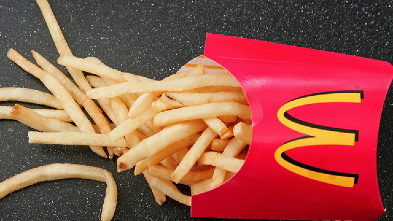Exercise? I thought you said extra fries. According to a Harvard prof, 6 French fries is a serving