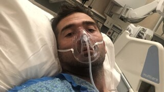COVID-19 put this 40-year-old marathoner on a ventilator. He wants others to keep their guards up.