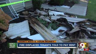 Ohio landlord demands rent after apartment complexfire