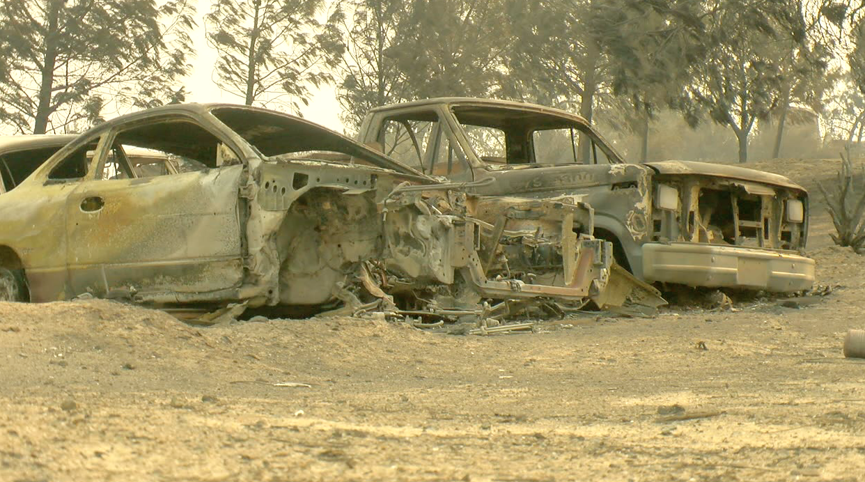 French Fire, Lake Isabella, August 19, 2021