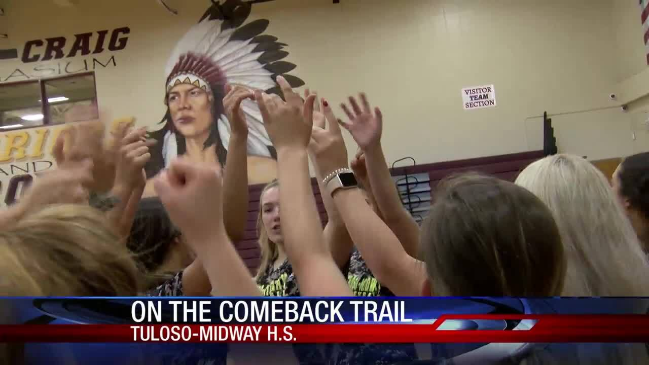 Tuloso-Midway volleyball