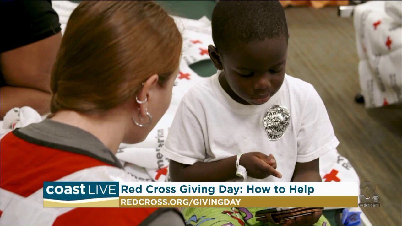Learning how to help those helping families affected by disasters on CoastLive