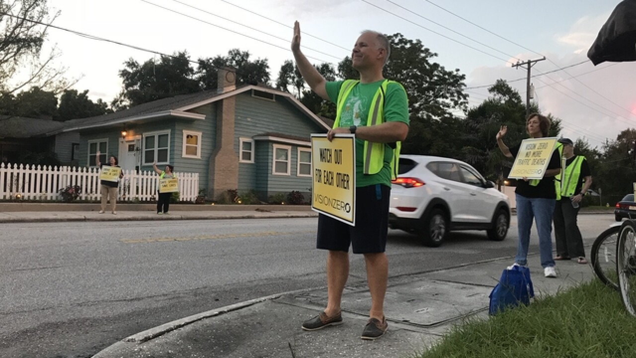 Seminole Heights fed up with speeding near homes