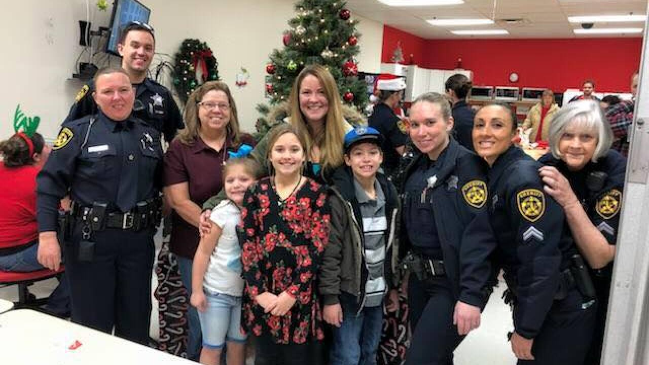 Virginia Beach Sheriff's Office hosts annual Cops & Kids charity shopping event