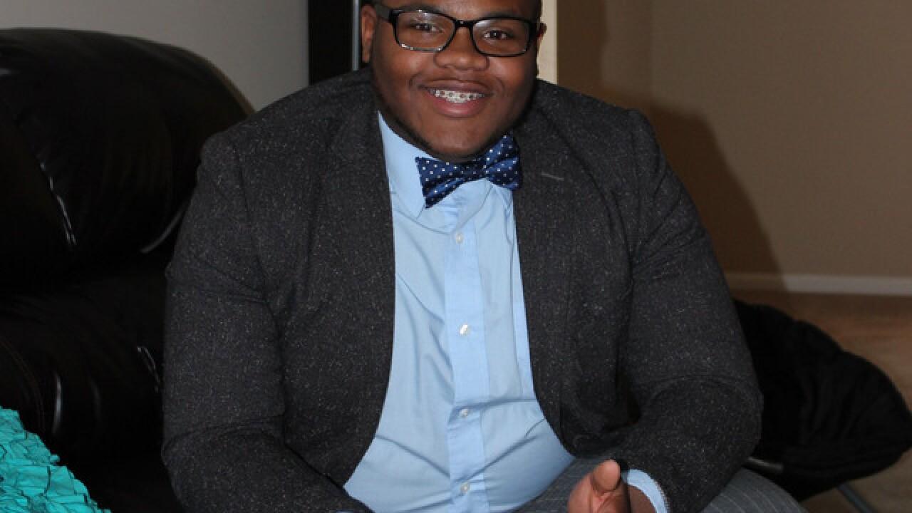 He's 19 and he wants your vote, Cincinnati
