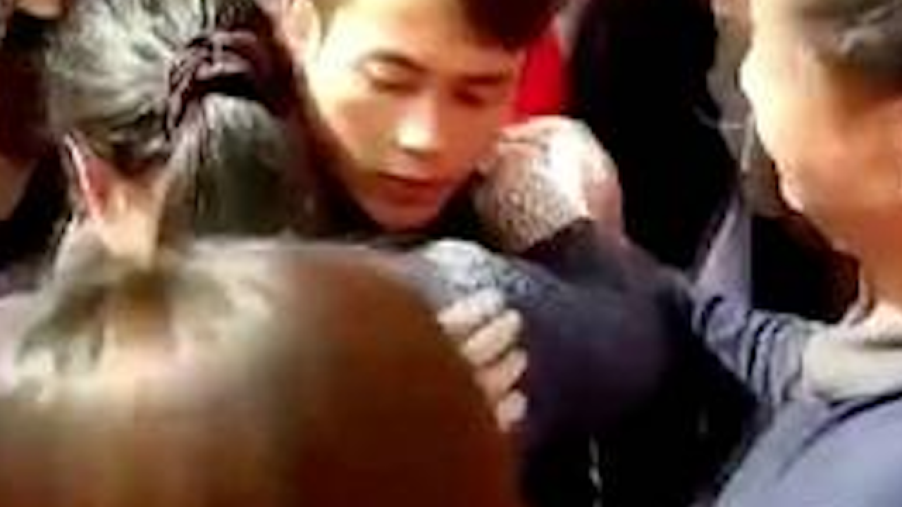 Family reunites with kidnapped son after 22 years