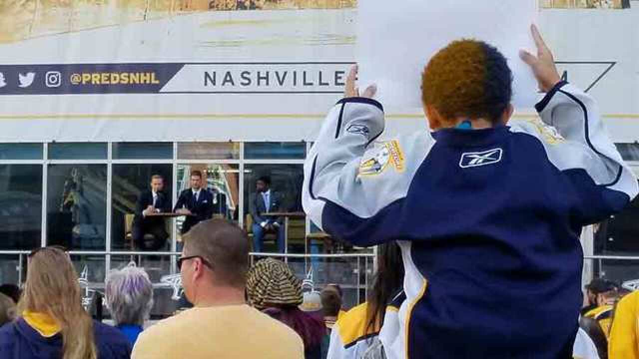 Predators Host 'Skate of the Union'