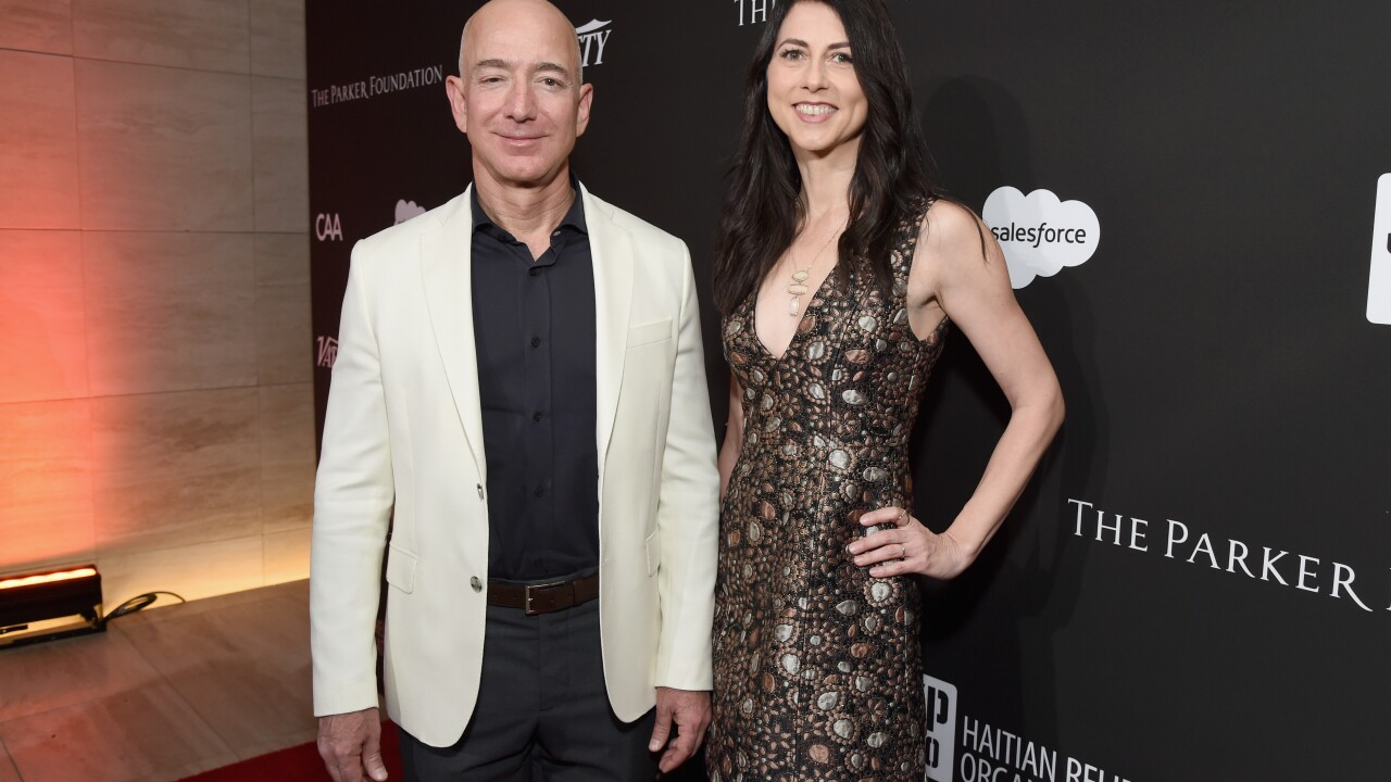 Jeff and MacKenzie Bezos finalize divorce