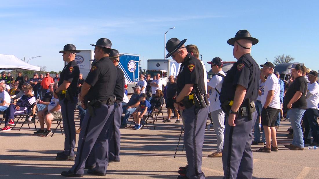 Truck convoy raising money for Special Olympics Wisconsin
