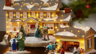 You Can Now Buy A 'Christmas Vacation' Ceramic Village For The Holidays