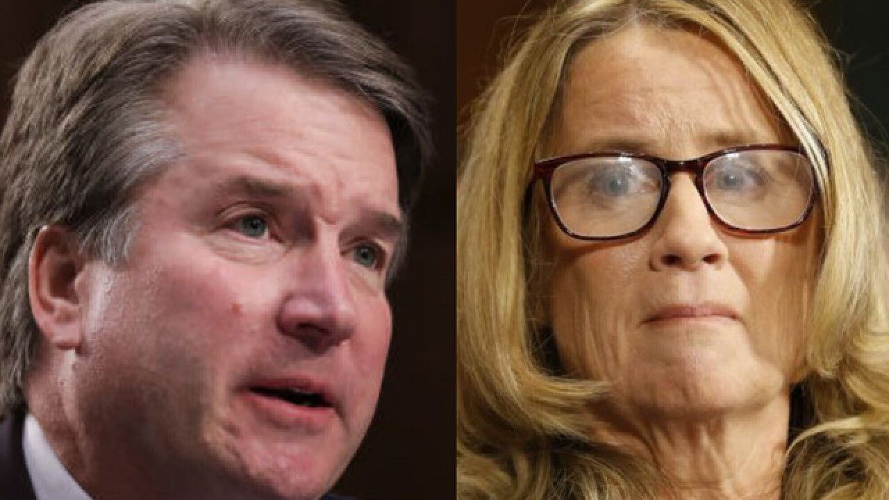 Brett Kavanaugh declares innocence as hearing turns into partisan brawl