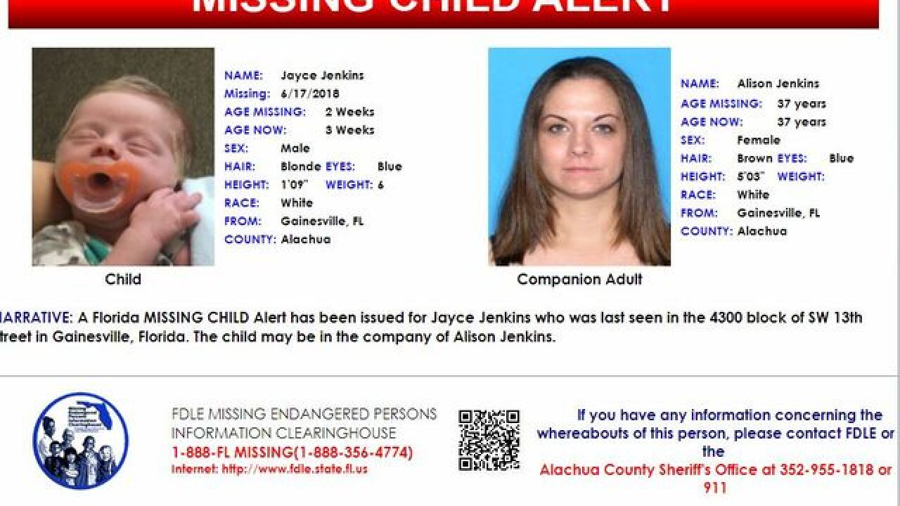 Missing Child Alert issued for Gainesville child