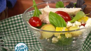 Summer Chicken Salad with Lemon Vinaigrette