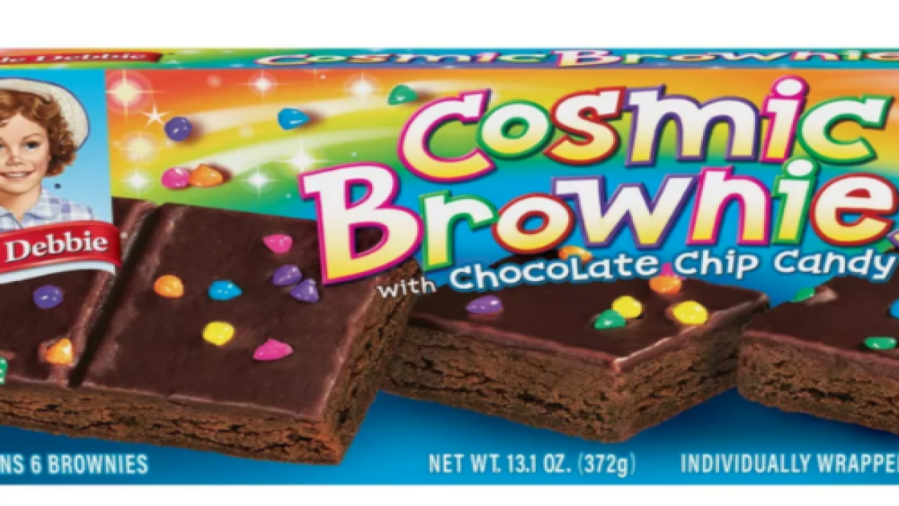 Kellogg's Is Launching New Little Debbie Cosmic Brownies Cereal