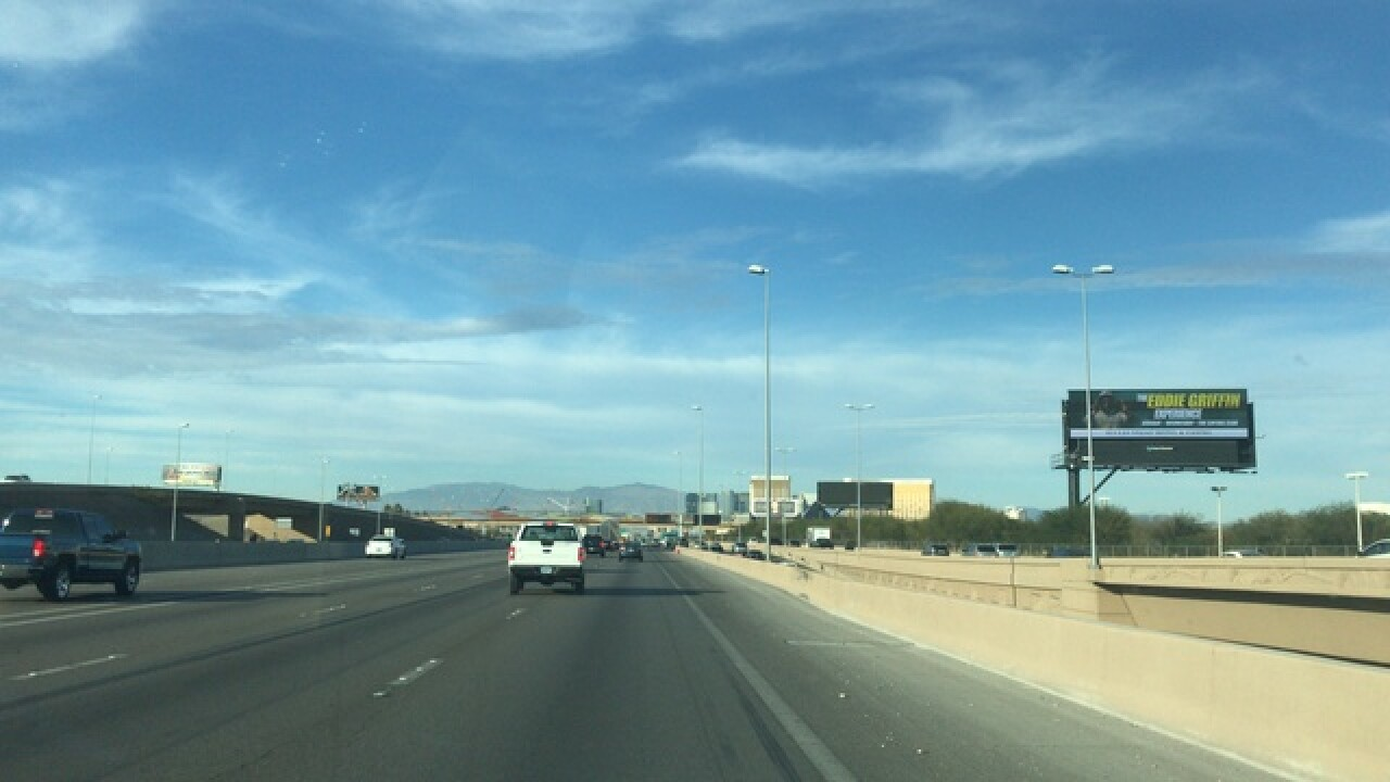 Pilot program making Las Vegas freeway safer