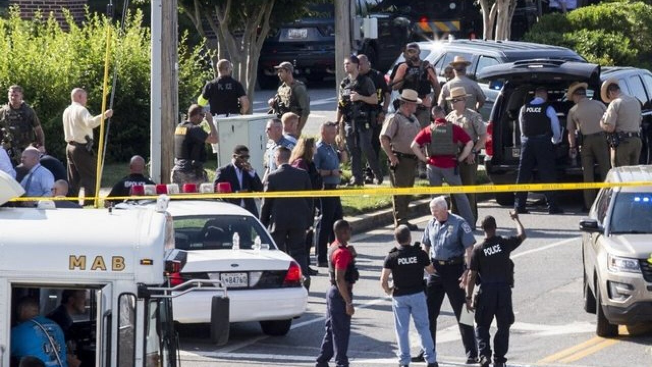 Newspaper seeks 2 editors as it rebuilds after mass shooting