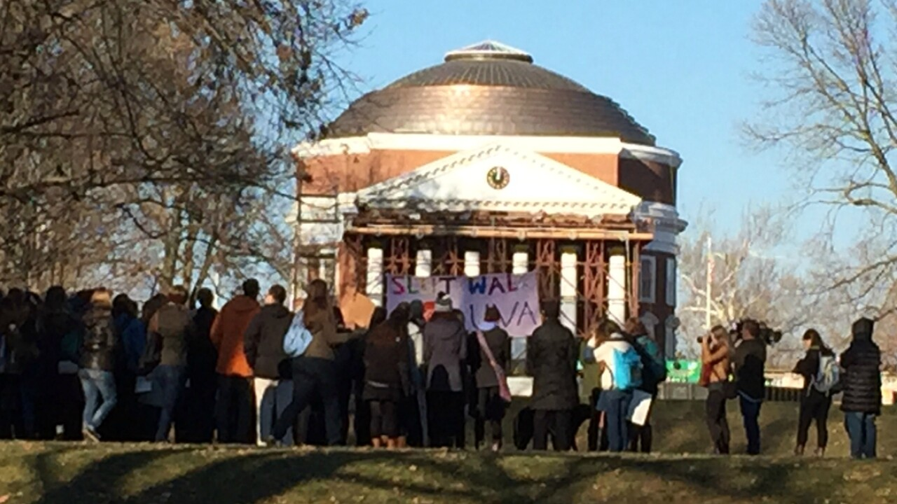 UVa. student leaders hold news conference after fraternities suspended over gang rape allegation