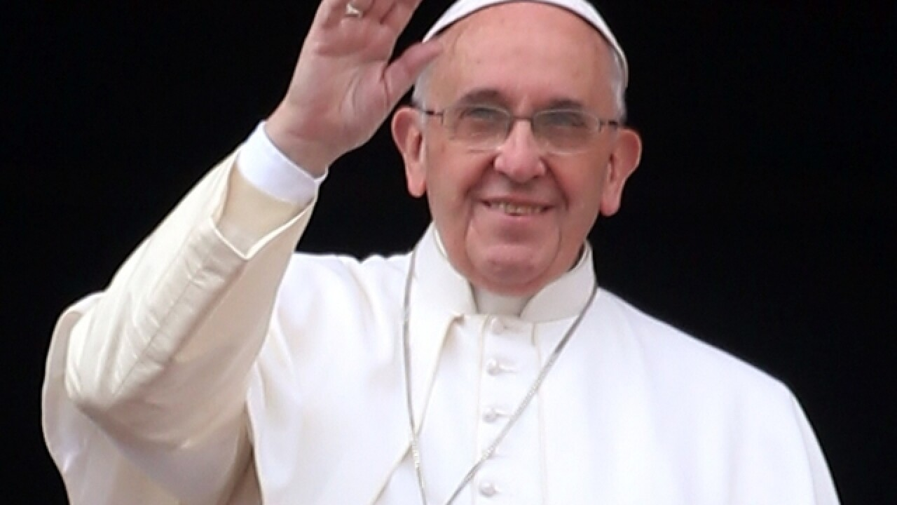 Pope Francis invites homeless people for breakfast as he celebrates 80th birthday