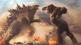 """""""Godzilla vs. Kong"""" opens in theaters and on HBO Max March 31."""