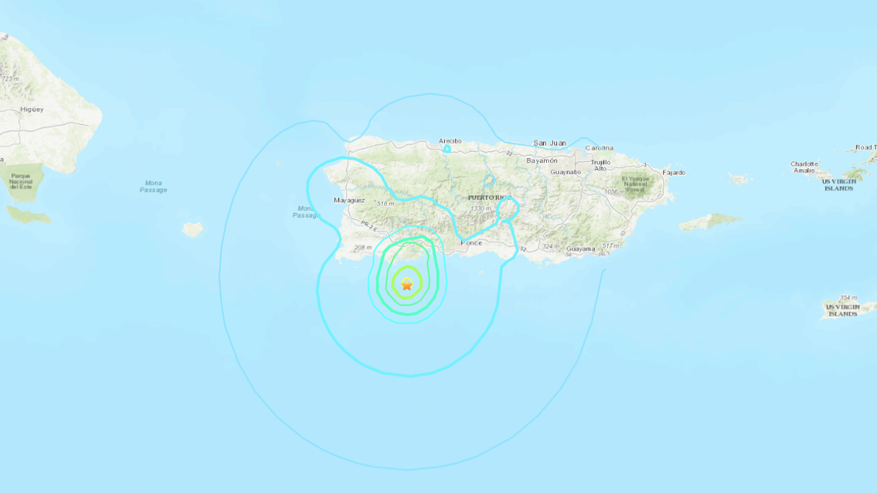 Puerto Rico rattled by magnitude 5.0 earthquake