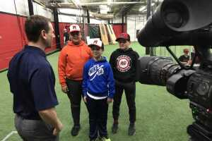 Vince Vitrano interviews muskego warriors U-12