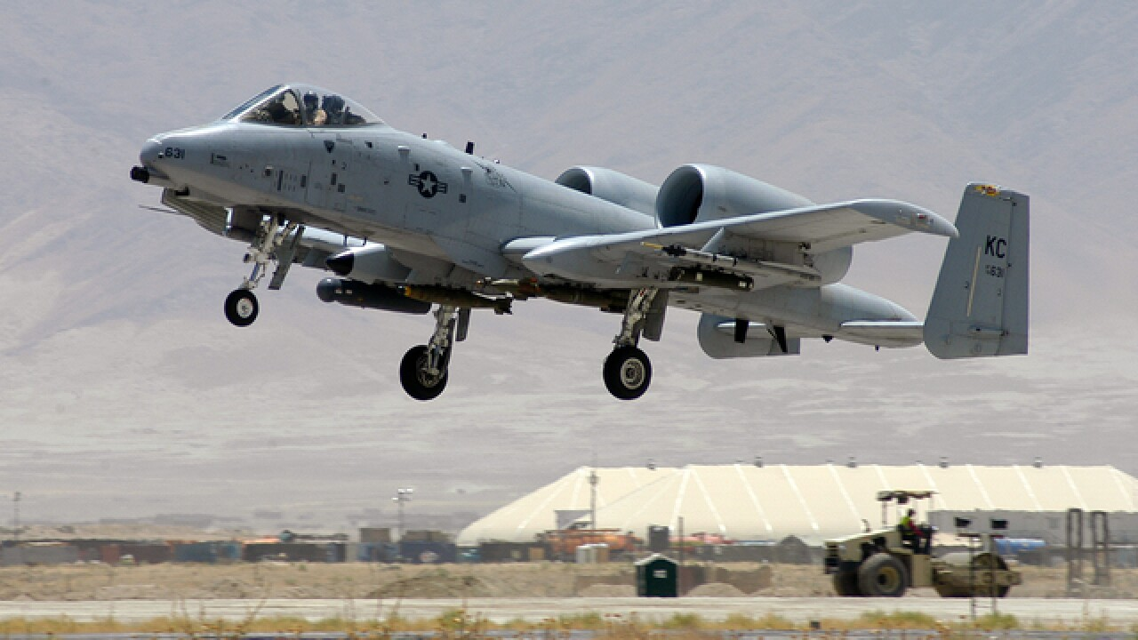 Senate approves full-year funding to repair A-10 aircraft