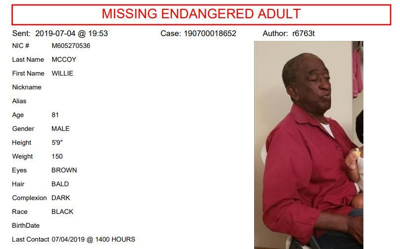 Vegas police ask for help in locating missing person