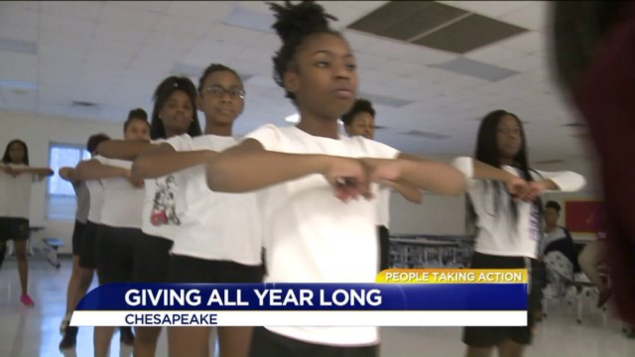 People Taking Action: Giving is a way of life for one Hampton Roadswoman