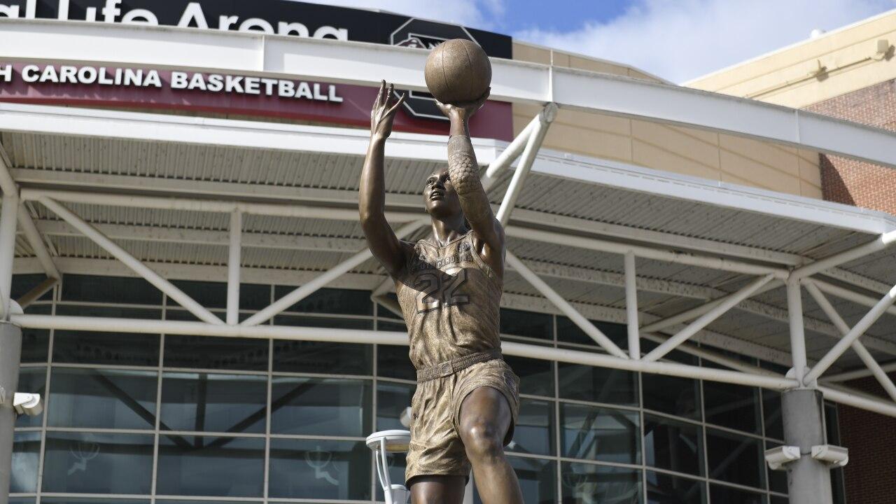 A'ja Wilson Statue usc