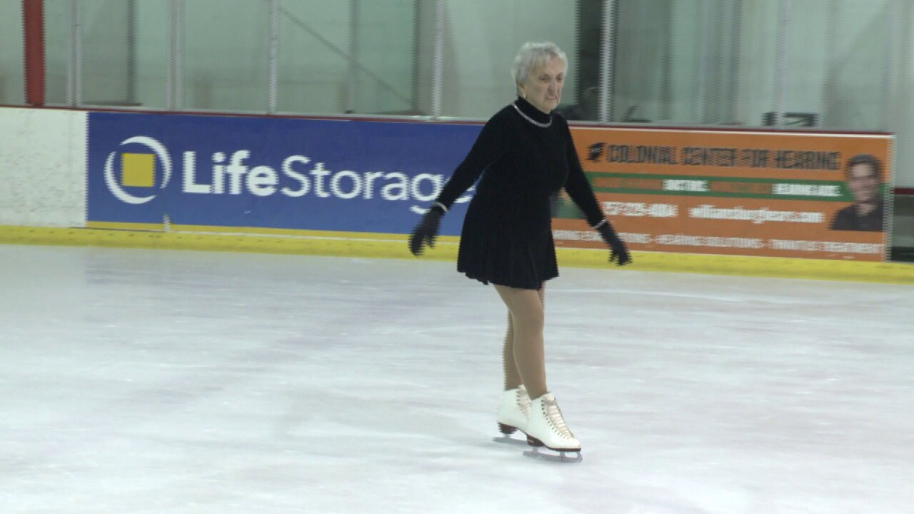 Meet the 86-year-old figure skater from Williamsburg: 'You ought to try it'