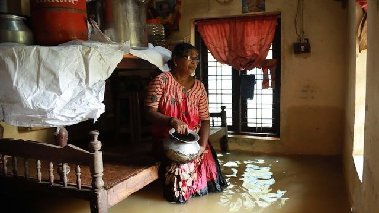 'Unprecedented' floods in Indian tourist hotspot kill dozens; 40,000 evacuated