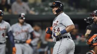 Miguel Cabrera Tigers Orioles Baseball