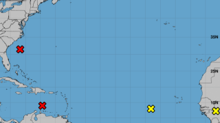 National Hurricane Center monitoring 4 'disturbances' that could become tropical depressions