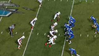 Middle Tennessee Holds Off Bowling Green For 24-13 Win