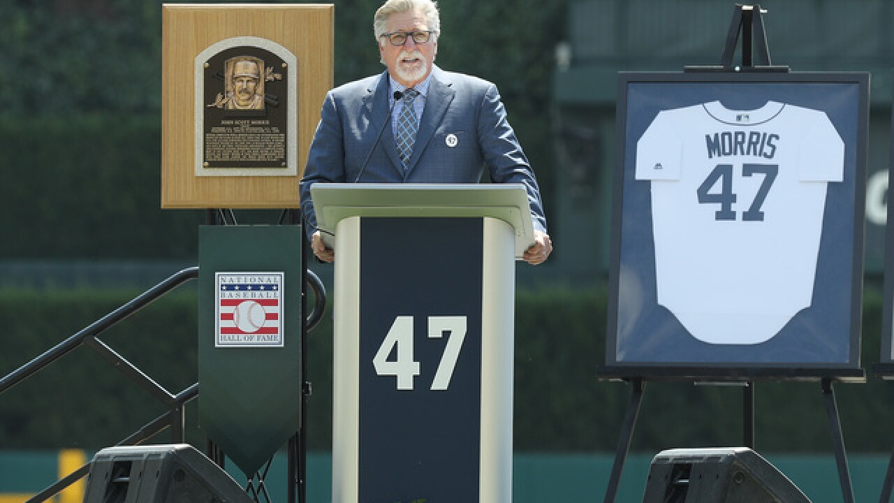 Tigers honor Hall of Fame pitcher Jack Morris, retire No. 47