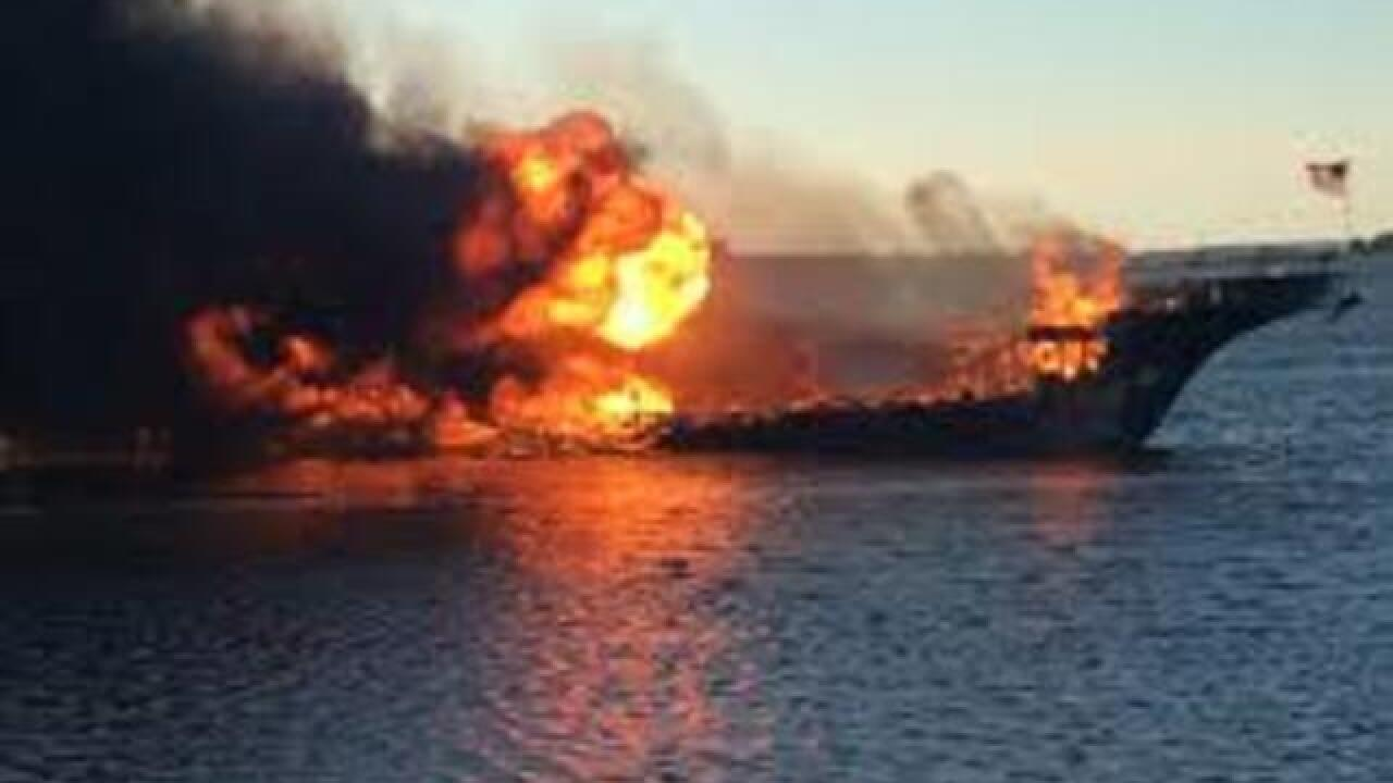Maintenance and training blamed in boat fire