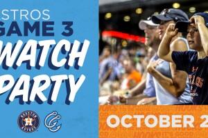 Corpus Christi Hooks Astros Game 3 Watch Party