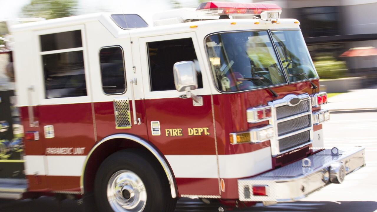 Firefighter injured after house fire in Norfolk