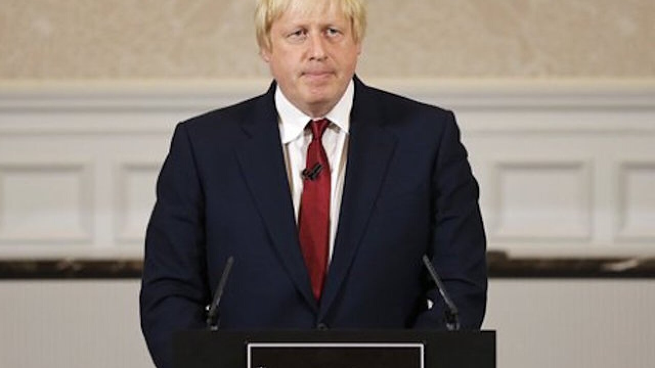 Boris Johnson bows out of prime minister run