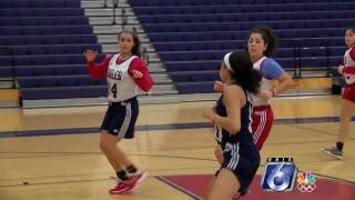 Veterans Memorial Eagles girls basketball