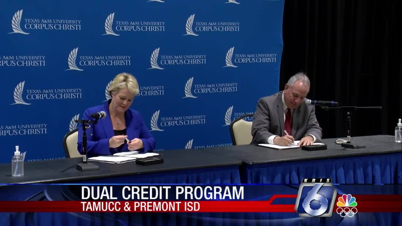 Premont ISD, TAMU-CC enter into joint educational partnership