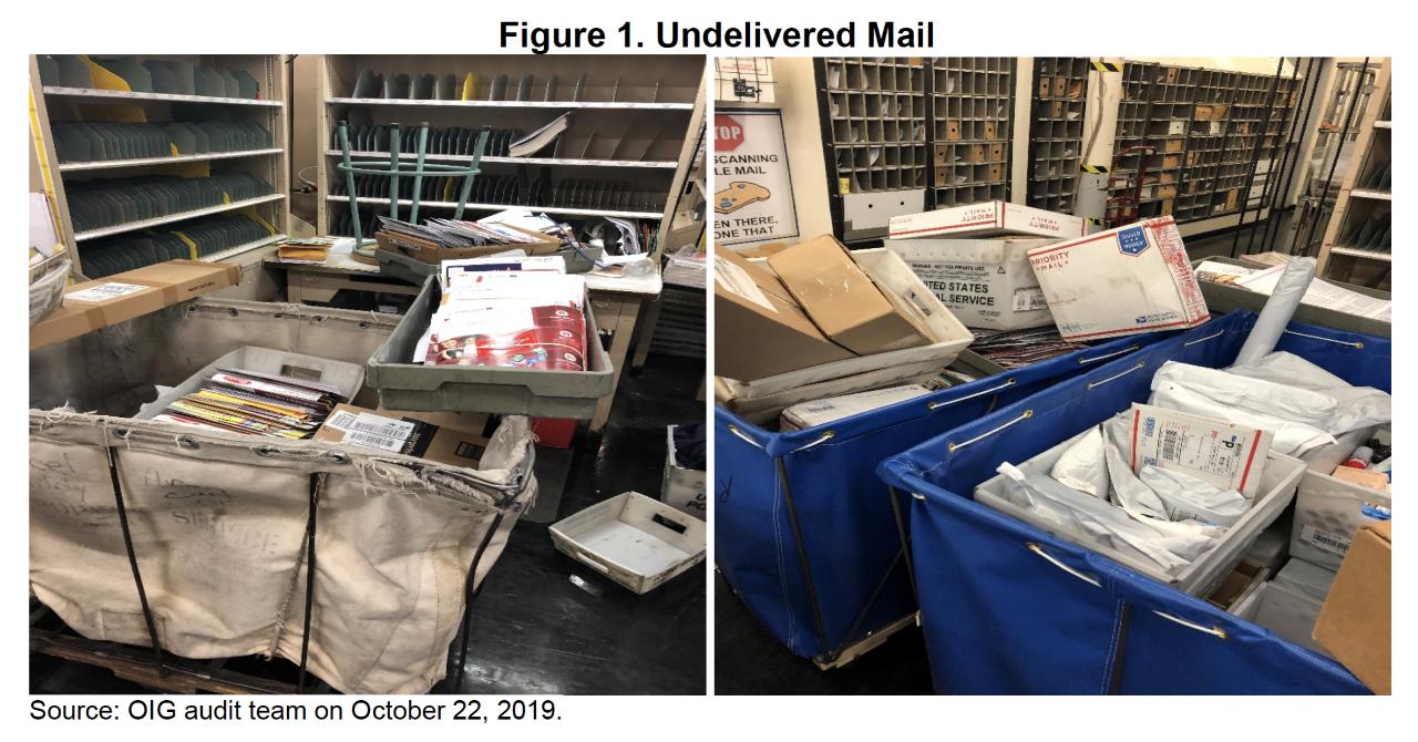 undelivered mail usps