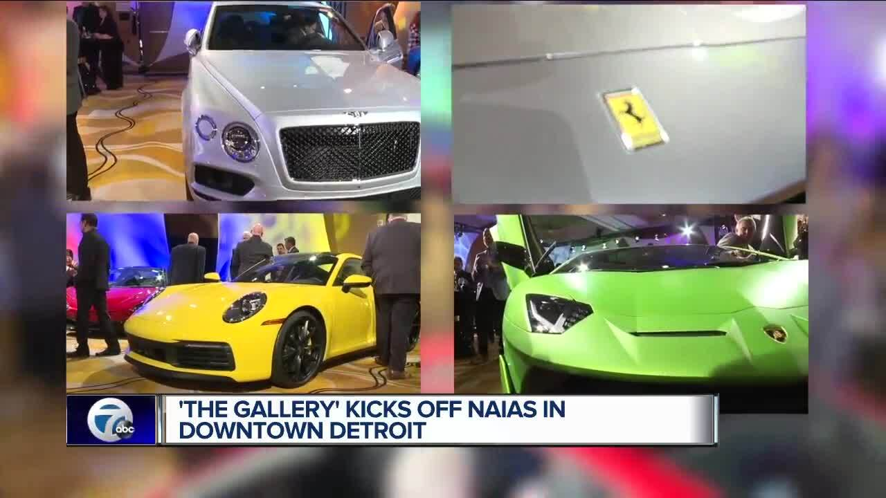 The Gallery At Mgm Grand In Detroit Showcases Luxury Cars Kicks