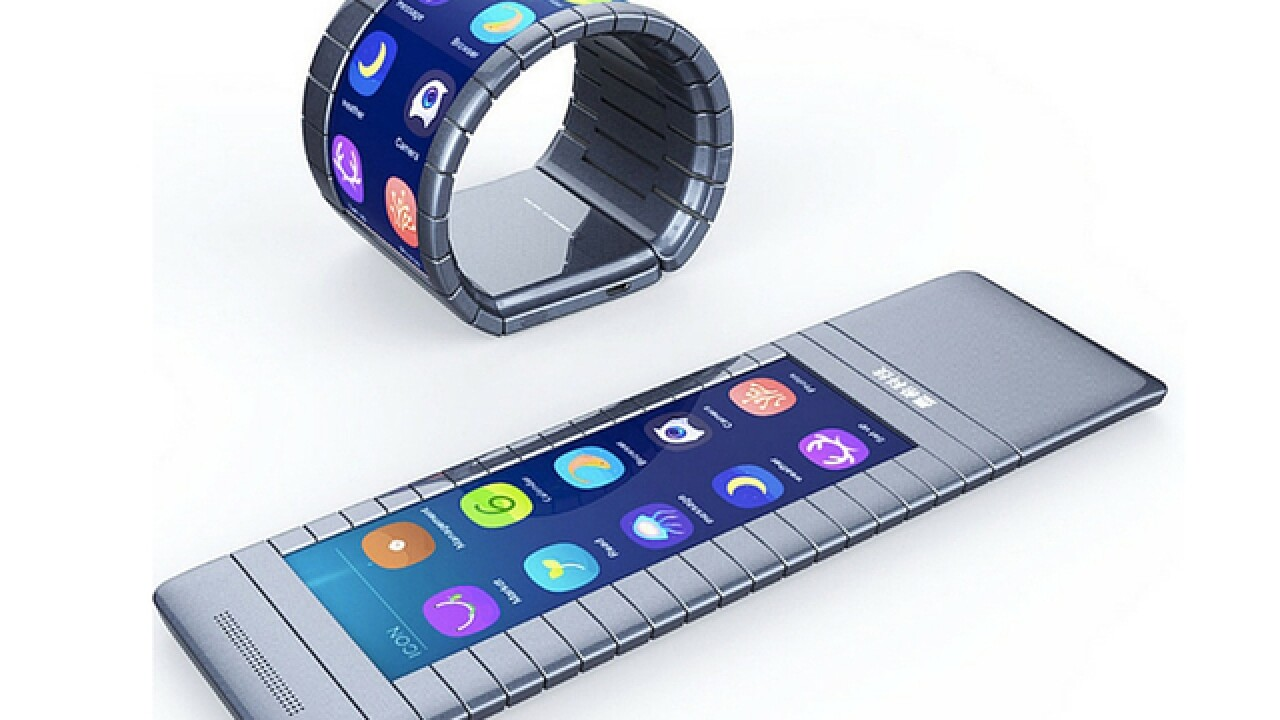 The bendable smartphone could be ready soon