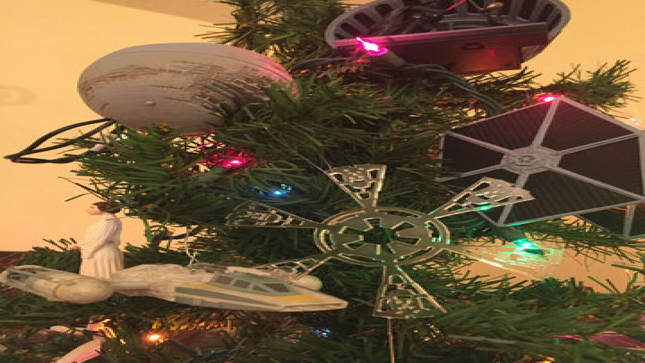 PHOTOS: RTV6 photographer has Star Wars tree