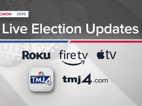 TMJ4 Decision 2020 Live Election Updates App Stream TMJ4 dot com FS.png
